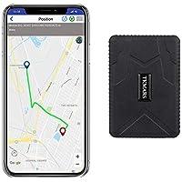 Hangang Rastreador GPS Magnético 120 días GPS Tracker en Espera, Localizador GPS a Prueba de Agua Dispositivo de…