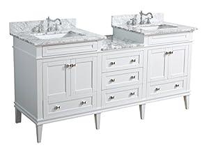 kitchen bath collection kbc l72wtcarr eleanor bathroom vanity with