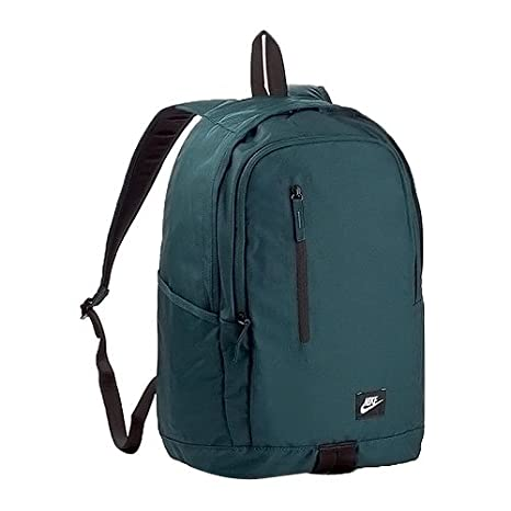 Nike Ba4857-328 Mochila Tipo Casual, Verde (Deep Jungle/Nero/Bianco