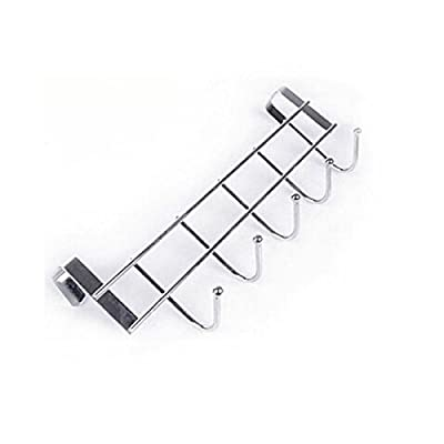 Stainless Steel Clothes Hooks Door Rack Bathroom Kitchen Towel Hanger Holder