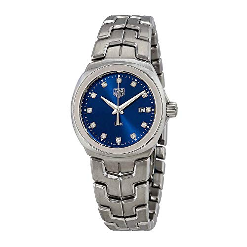Tag Heuer Link Blue Diamond Dial Ladies Watch WBC1318.BA0600
