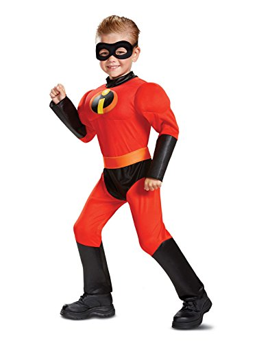 Disguise Dash Toddler Classic Muscle Child Costume, Red, Size/(2T)]()
