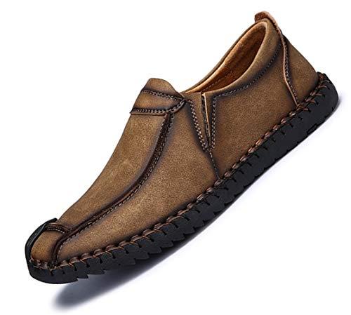 Grande scamosciato Inghilterra scarpe PU Dimensione Marrone particolarmente Pelle Extra Uomini stile Bebete5858 Uomo casuale BqPYEwn