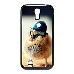Samsung Galaxy S4 Case, Chicken Police Funny Cute Case For Samsung Galaxy S4 {Black}