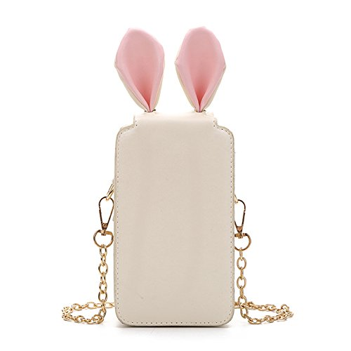 Women Handbag H Rabbit Fashion Clutch Crossbody Beige Cute Bag Summer Shoulder amp;N Ear OAqXrWX5