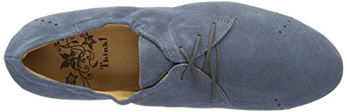 Pensate Women's Shua 79 Blue Derby denim kombi rBqrva8nw