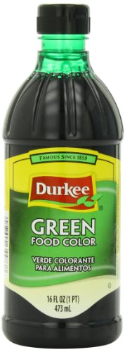 Durkee Green Food Color, 16-Ounce Containers (Pack of 3)