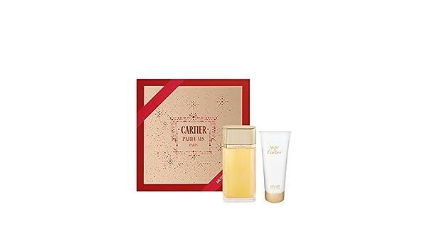Amazoncom Must De Cartier Gold Eau De Parfum Gift Set By Cartier