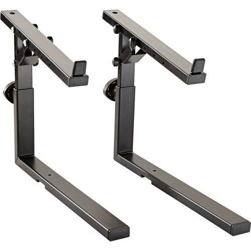 K & M Stands K & M Adjustable stacker, black Music Stand 18811.000.55