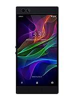 Razer Phone with 120 Hz Ultra Motion Display, 64GB Memory,8GB RAM, Dual Camera,Dual Front-Facing Speakers, Gaming Phone-Black (Certified Refurbished)