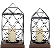 2-Set Foreside Home and Garden Geo Lanterns