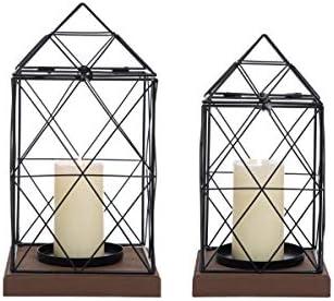 2-Set Foreside Home and Garden Geo Lanterns