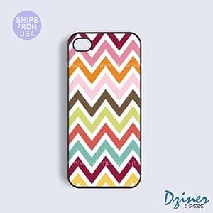 Case Cover For Apple Iphone 6 Plus 5.5 Inch Tough Case - model - Multi Colorful Chevron