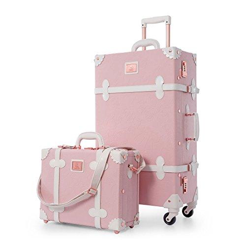 vintage luggage with wheels - 9