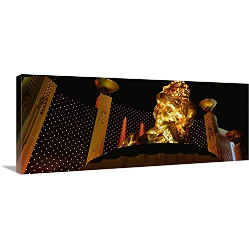 - GREATBIGCANVAS Gallery-Wrapped Canvas Entitled MGM Grand Las Vegas NV by 60