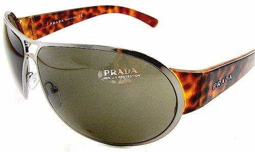 53424aa4ae Prada Spr 57G Spr57G 5Av-5G1 Sunglasses Brown Lens Tortoise Graphite Frame  Size  70-11-125  Amazon.co.uk  Clothing