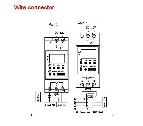 cyclic relay wiring diagram wye