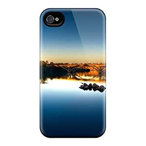 Awesome Case Cover/iphone 4/4s Defender Case Cover(river Crossing)