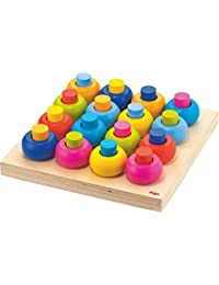 HABA Palette of Pegs - 32 Piece Wooden Pegging & Arranging Game for Ages 2 and Up BOBEBE Online Baby Store From New York to Miami and Los Angeles