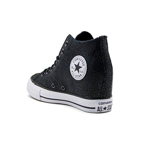 Converse All Star CTAS Luxury Mid Womens Wedge 555154C (6 B(M) US ... 54f169a4c