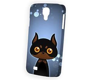 Case Fun Samsung Galaxy S4 (i9500) Case - Vogue Version - 3D Full Wrap - Doberman by DevilleART