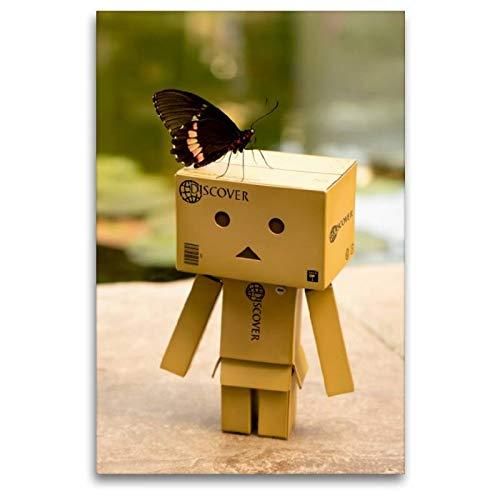 CALVENDO Spass Toile en Textile de qualité supérieure Motif Papillons 80 x 120 cm