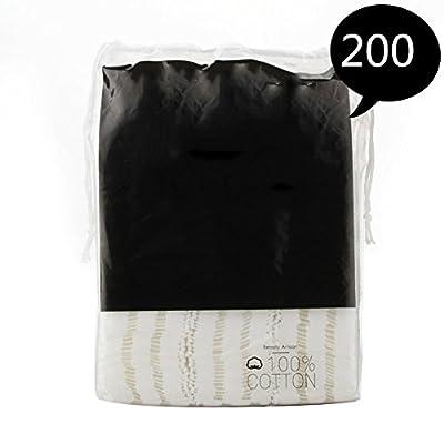 Vinmax 100% Organic Cotton Pads Makeup Remover Wipes Face Wash Cotton Pads for Sensitive Skin 200Pcs