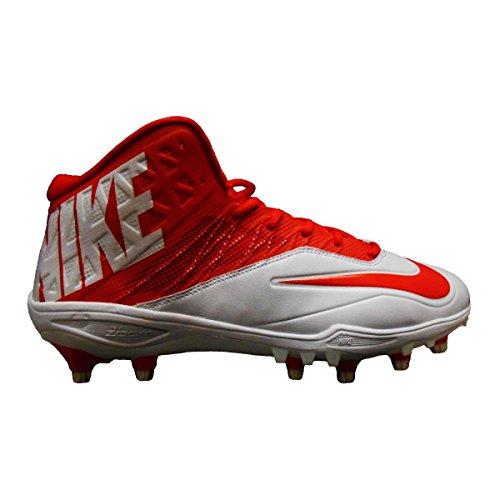 Nike Zoom Kode Elite 3/4 Td Menns Fotball Cleats (16, Hvit / Oransje)