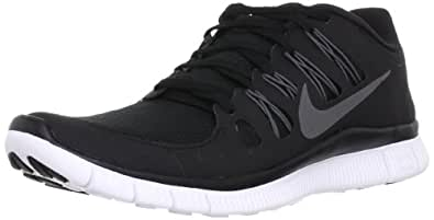 Nike Men's Free 5.0+ Running Shoes, Blk/Gry/Wht, SZ 6
