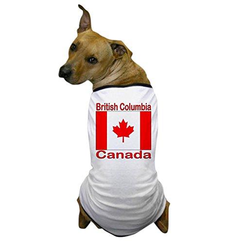 [CafePress - British Columbia Flag Canada Dog T-Shirt - Dog T-Shirt, Pet Clothing, Funny Dog Costume] (British Columbia Costumes)