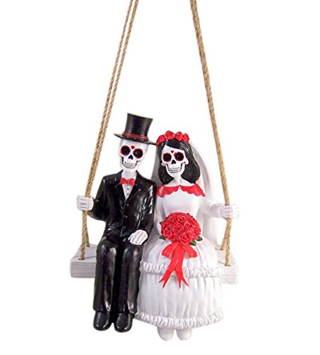 Amor Eterno Day of The Dead Couple on Swing ()
