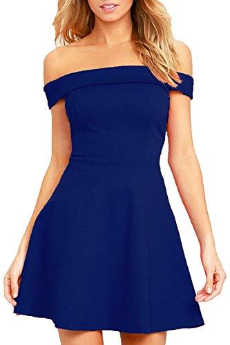a line off shoulder dress - 3