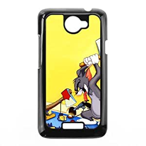 HTC One X Cell Phone Case Black Tom and Jerry 005 WH9498266