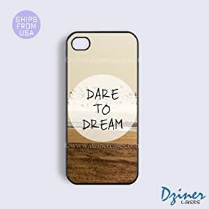 MEIMEIiPhone 4 4s Case - Dare To Dream iPhone CoverMEIMEI