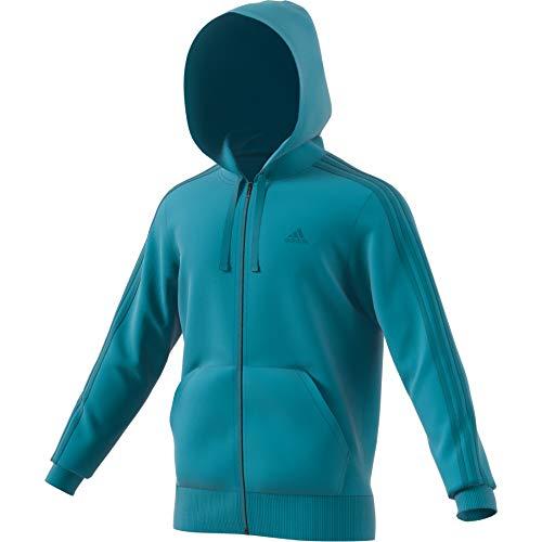 Adidas Multicolore verlab Sportiva Cappuccio Con Uomo 3s Ft Ess Felpa Fz rZwrqS