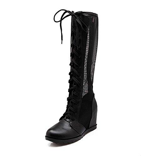 1TO9 - A Collo Alto donna, nero (Black), 35 EU