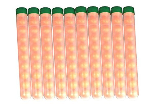 100 Paintballs Pellets .68 Caliber pre-Pack in 10 Round Tubes. ()