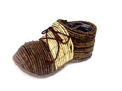 Zapato Nico Medio I 38 cm largo. I mano I Jardín Decoración I ...