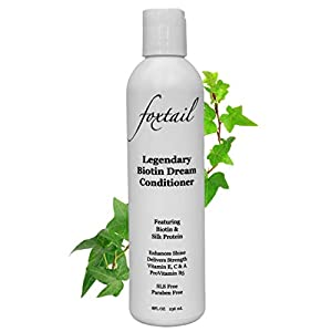 Best Epic Trends 41600wXaZqL._SS300_ FOXTAIL Legendary Biotin Dream Conditioner - Moisturize, Enhance, and Protect Hair with Biotin, Silk Protein…