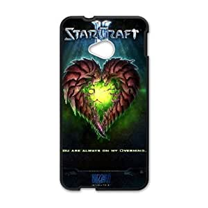 Well Design HTC One M7 phone case - design with Starcraft 2 Protoss pattern