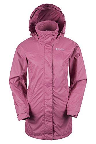 Mountain Warehouse Chaqueta larga para invierno Guelder para mujer Rosa