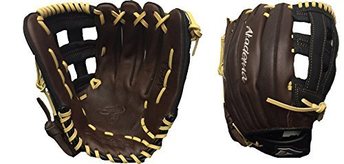 Akadema Prodigy Series Baseball Outfielders Gloves, Brown/Black/Sandstone, Right Hand