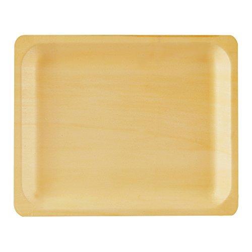 Perfect Stix Perfectware 10-50ct Wooden Disposable Rectangular Plates 10\  (Pack of 50)  sc 1 st  Amazon.com & Disposable Wooden Plates: Amazon.com