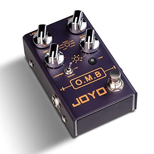 Guitar Effect Pedal, JOYO R-06 O.M.B LOOPER + Drum Machine, Electric Guitar Pedal Effect, Bypass