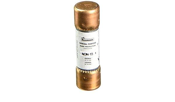 BUSSMANN FUSES NON-20 250V K5 One-Time 20 Amp Low-Voltage Cartridge Fuse