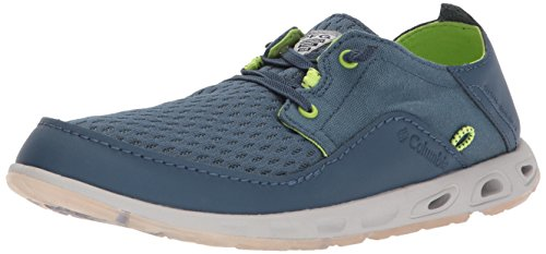 Columbia PFG Men's Bahama Relaxed Marlin PFG Boat Shoe, Whale, Fission, 11 Regular US
