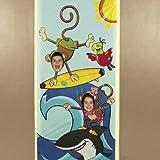 Beach Monkey Photo Door Banner - Party Decorations & Door Covers