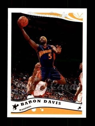 Baron Davis Warriors (2005 Topps # 30 Baron Davis Golden State Warriors (Basketball Card) Dean's Cards 8 - NM/MT Warriors)