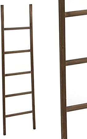 Home Line Escalera Decorativa Madera 180 cm 22211954DC: Amazon.es: Hogar