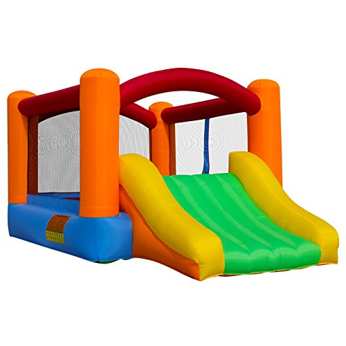 Cloud 9 Bounce House with Slide with Blower and Bag